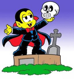 Zé Vampir com o Cranicola