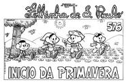 Capa da Folhinha de S. Paulo em formato tablóide