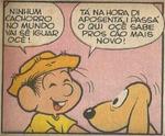 Chico conversa com Fido em 'O Velho Cão', de Mônica N38 (Globo)