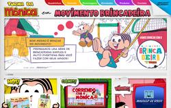 Screenshot do site em 28 de junho de 2018