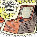 Jogo Eletrônico Total (como uma máquina) em Mônica MN172 - A Incrível Aventura Eletrônica