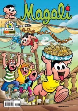 Magali, Número 43, da Panini Comics
