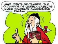 Ding Ling Vendedor (Quadrinhos)