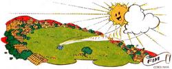 O Campinho na historinha 'A Nuvenzinha do Amor', de Cebolinha N68 (Editora Abril)