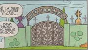 O Cemitério em Cebolinha n82 da Panini