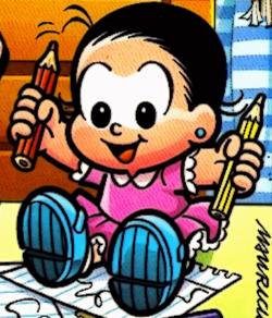 Maria Cebolinha na capa de Cebolinha N17, da Ed.Panini