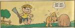 Chico observa Fido em 'O Velho Cão', de Mônica N38 (Globo)