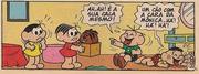 'Um cão com a cara da Mônica', fala Cascão
