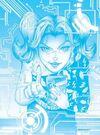 Denise na terceira capa da edição 10 da Turma da Mônica Jovem II