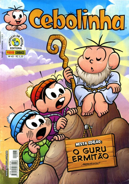 Cebolinha, Número 43, da Panini Comics