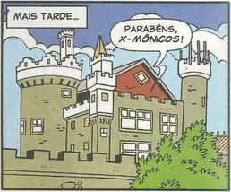Mansão do Xaveco Xavier e dos X-Mônicos...