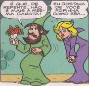 Quimério e Mefista em 'Meu Fofo Amor'