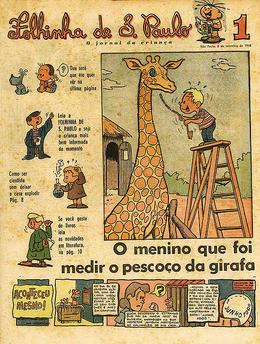 Primeira edição da Folhinha de S. Paulo (8 de setembro de 1963)