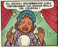 Madame Creuzodete em sua primeira aparição nos quadrinhos