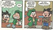Magalie e Cebologan se conhecendo