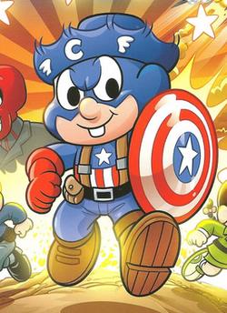 Caipirão América na capa dos Clássicos do Cinema, Edição 49