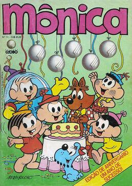 Monica numero13 capa