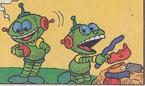 Líder e Pantagruaco em Magali N132, na historinha 'Robocome I'