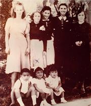 Mauricio com sua família