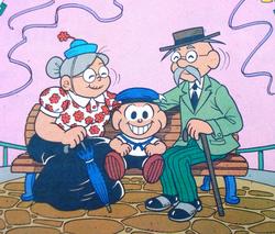 Avós do Cebolinha