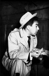 Mauricio de Sousa por volta de 1950-60s, repórter