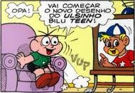 Ursinho Bilu Teen em Cebolinha N61 (Ed. Panini)