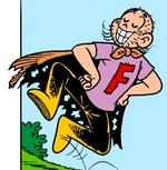 Capitão Feio em Cascão N427, na historinha 'Os Três Sujinhos'