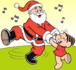 Papai Noel e Mônica