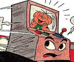 Jogo Eletrônico Total (como personagem) em Mônica MN172 - A Incrível Aventura Eletrônica