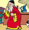 Tio-Avô disfarçado de Ding Ling
