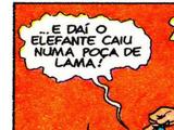 Capitão Feio/História