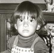 Emerson Abreu em sua infância