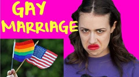 GAY MARRIAGE!?
