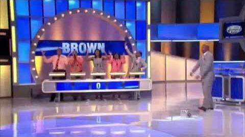 Family Feud Brown Family
