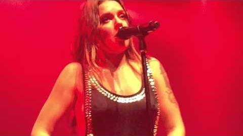 Tove Lo - Talking Body LIVE 10 21 15 NYC NSFW