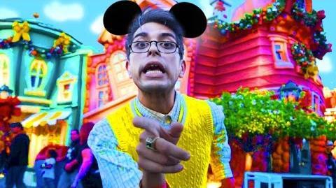 Grandpa HATES Disneyland