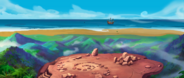 Monkey Island - Ledge