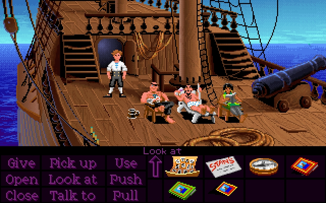 Download The Curse Of Monkey Island For The Amiga