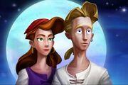 Amor-en-los-videojuegos-elaine-guybrush-se