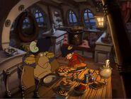 Sea cucumber captain's cabin