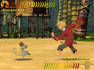 Monkey Kombat Fight