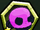 Pink Skeleton Head