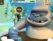 Giant Snow Gorilla