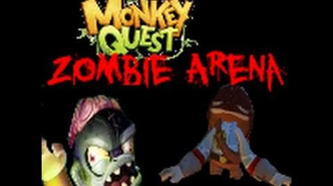 Monkey Quest - Zombie Attack! Arena