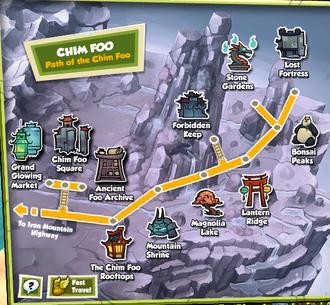 Map of Chim Foo