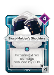 Blast-Maiden's Shoulders