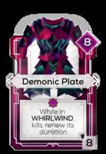Demonic Plate