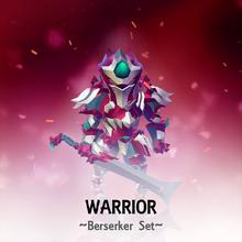 Set Warrior Berserker