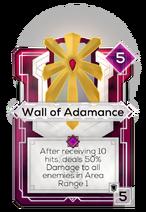 Wall of Adamance