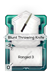 Blunt Throwing Knife